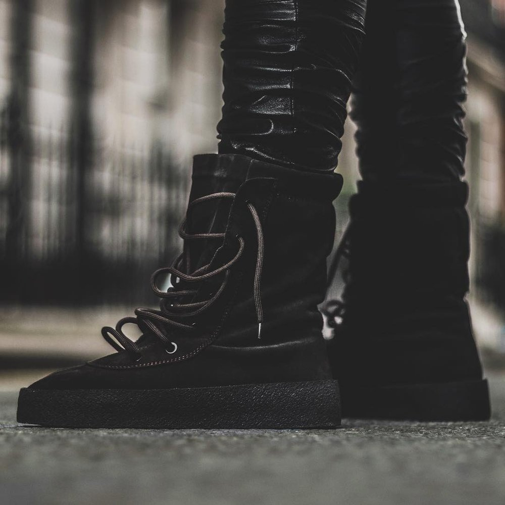 super popular e8dec a775d Now Available  Yeezy Season 2 Crepe Boot
