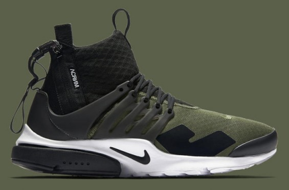 Official Look at the ACRONYM x Nike Air Presto