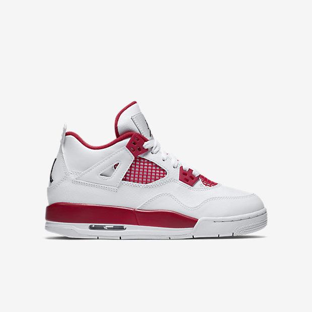 venta de descuento nueva línea barata Nike Air Jordan 4 Retro Blanco / Negro-gym Langosta Roja venta Amazon 6f0QAd8k