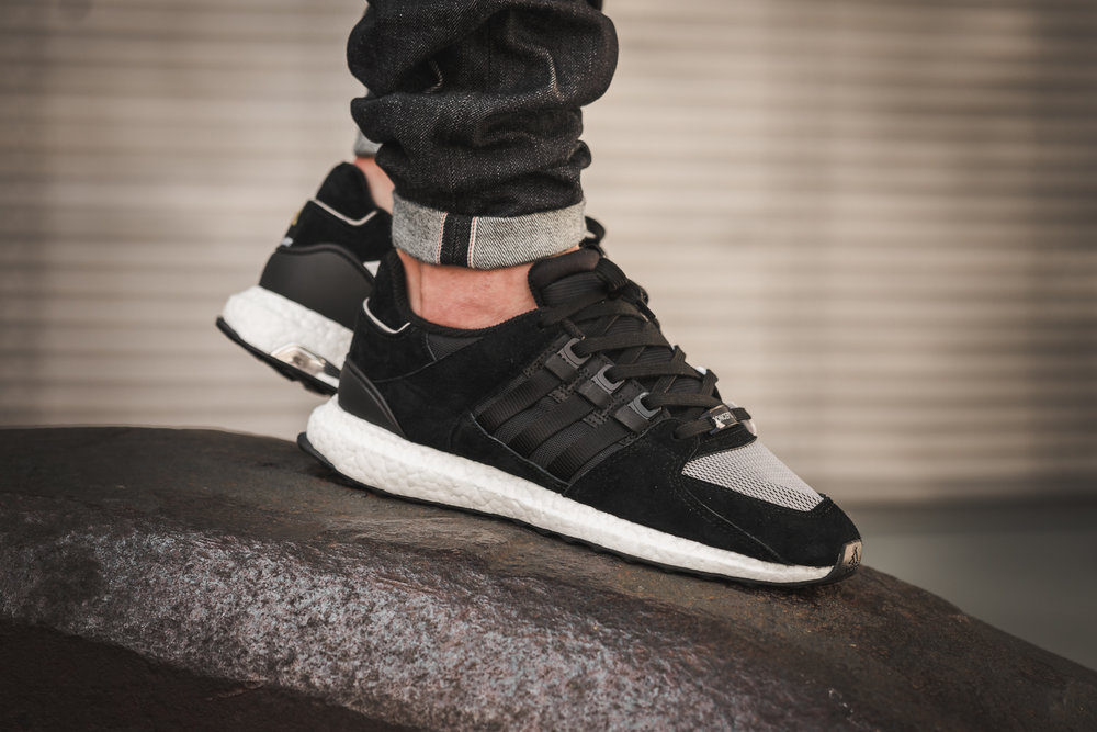 Adidas EQT Support 93/17 Boost White Turbo Red 10 BA7473