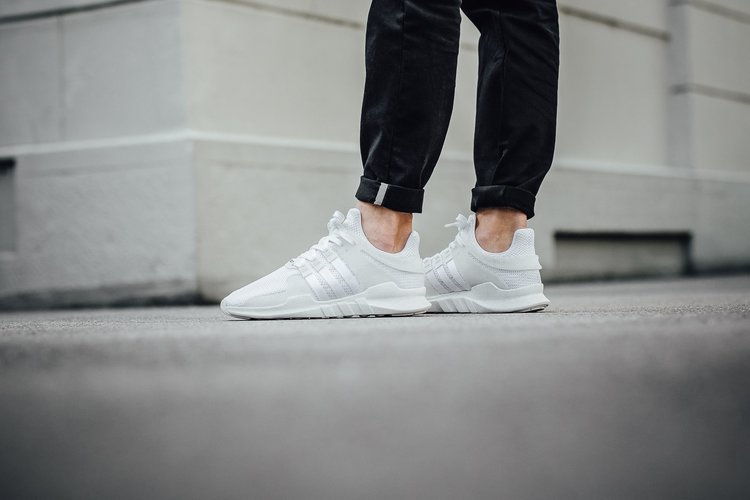 adidas EQT Support 93 17 White/Turbo Red Drops Today