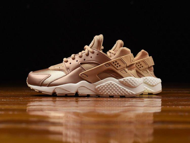 Nike Huarache Womens Gold