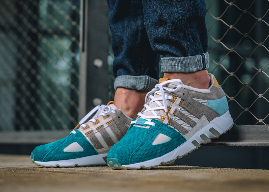 low priced 08c38 9e2be Now Available Sneakers76 x adidas EQT Guidance 93