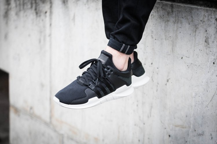 Adidas EQT Support ADV Primeknit Core Black Turbo White