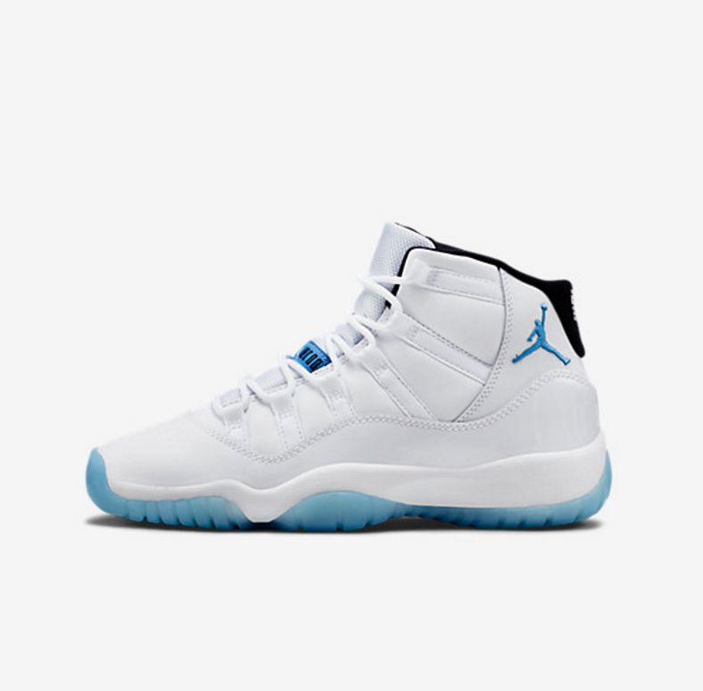 new product 6cf15 86f3d ... ireland restock gs air jordan 11 retro legend blue 6ebeb 0b149