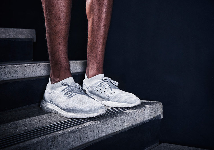 Adidas Ultra Boost All White Uncaged