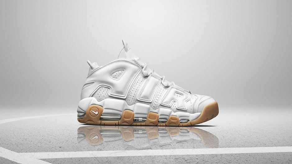 Nike Air More Uptempo White Gum