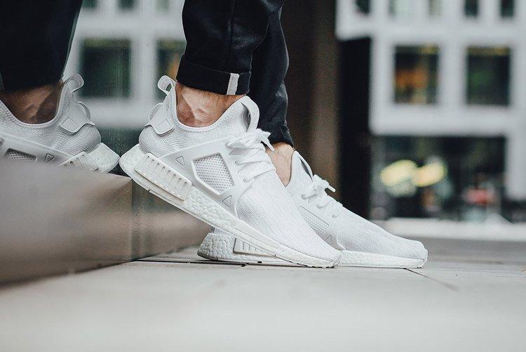 Crep LDN - Adidas NMD XR 1 Primeknit 'White'