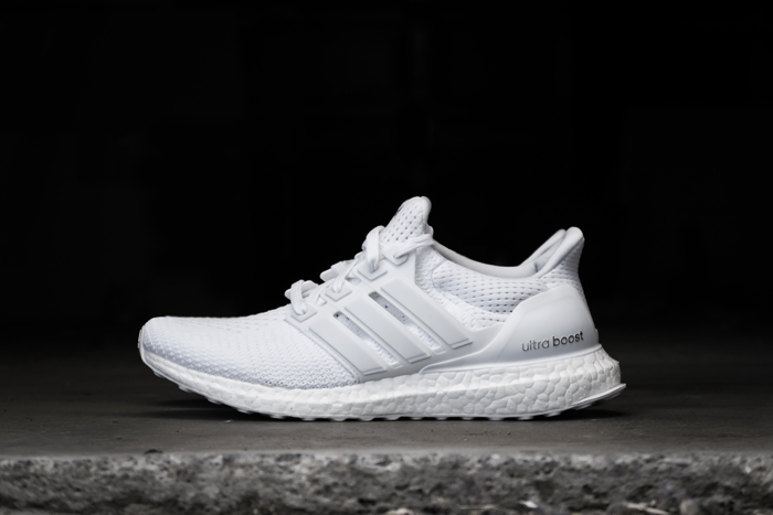 Adidas Ultra Boost 'Triple White' Restocks at Champs