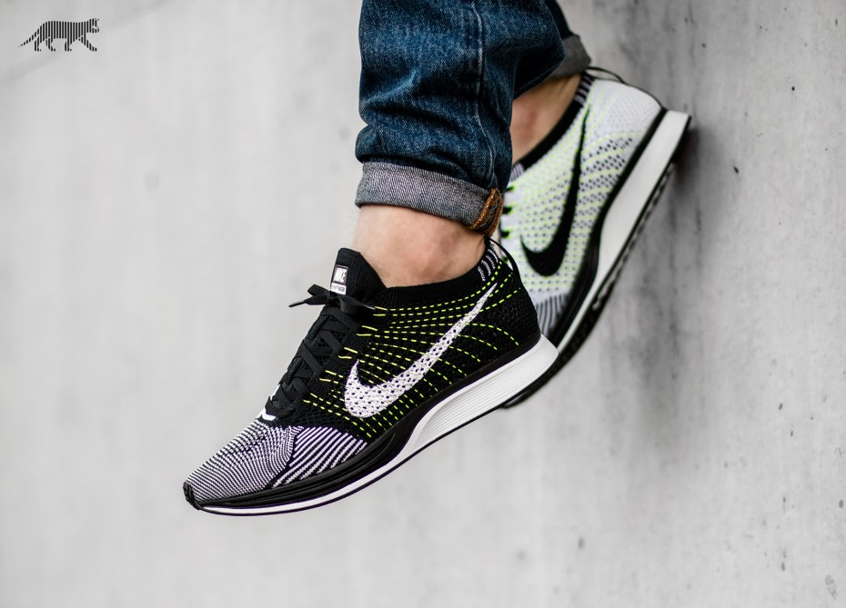 ... spain nike flyknit racer black volt price 97.50 retail 150 2c58e 0af51 a2705a569