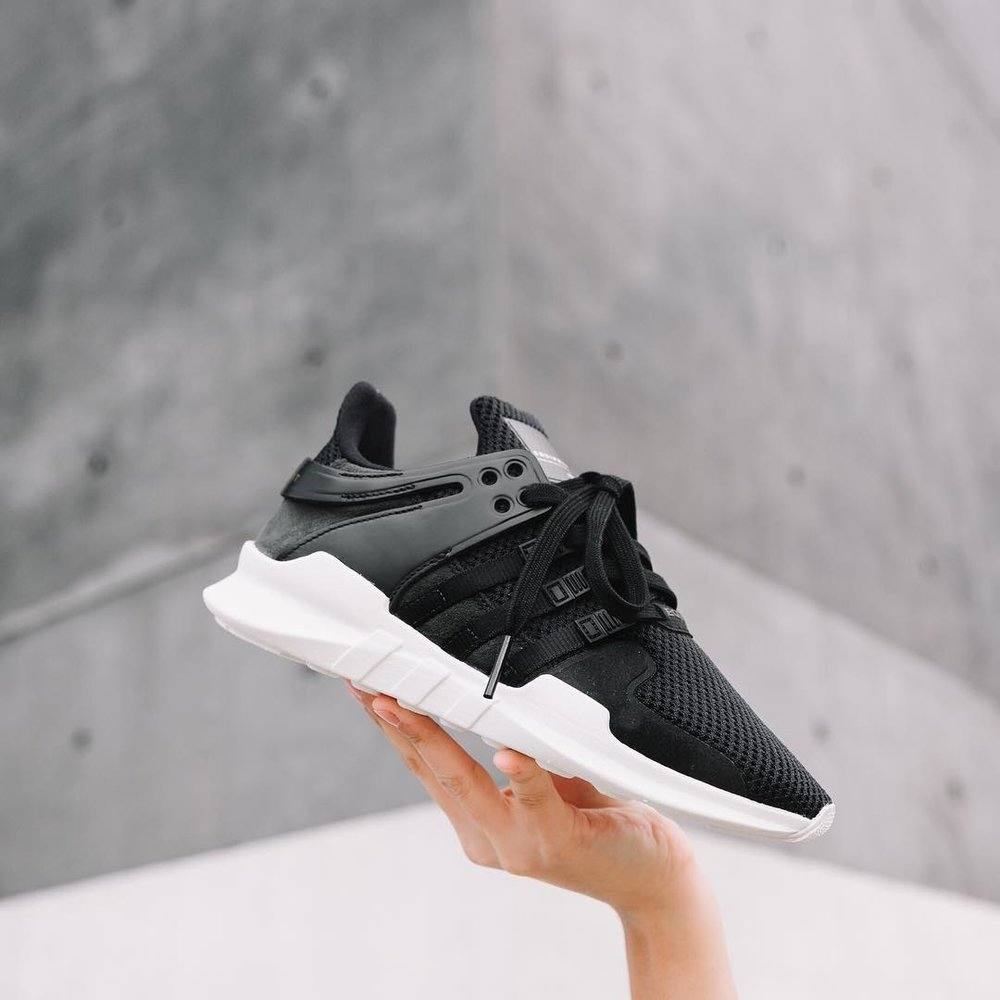 Adidas EQT Support 93/17 Black / Pink Sylt Support