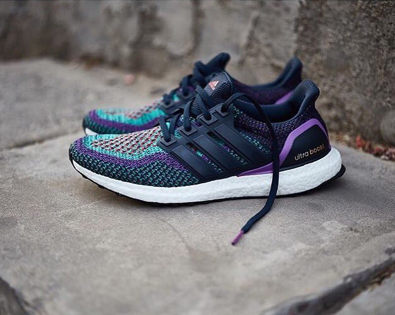 Adidas Ultra Boost Black And Purple