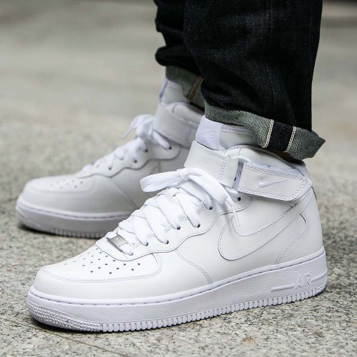nike air force 1 weiß mid