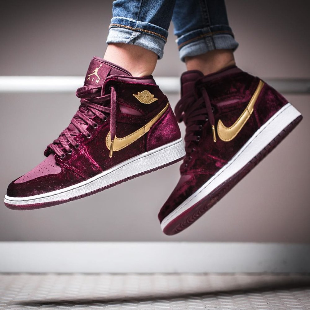 59f63199006 ... low cost restock air jordan 1 high red velvet c4282 6fa05 ...