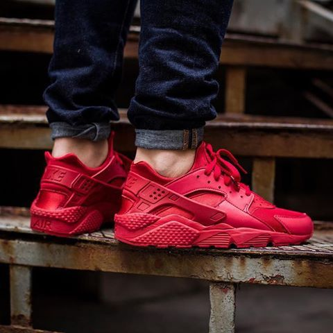 on sale 976de ce76a shop nike huarache run triple red 27e77 02e1f