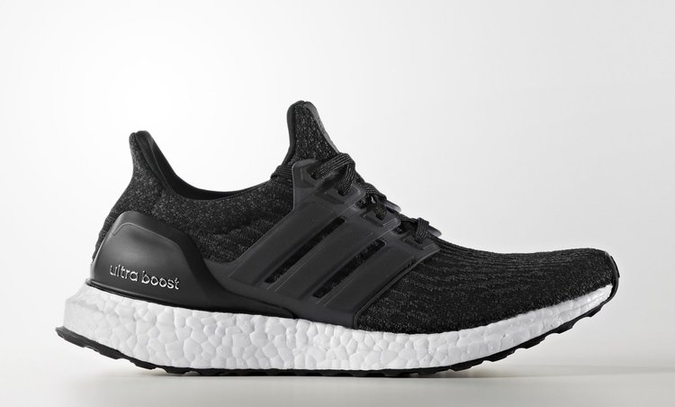 Adidas Ultra Boost 3.0 Triple Black Solid Gray Silver UltraBoost