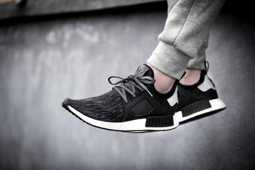 Cheap Adidas NMD R1 PK JAPAN BOOST Black/White Primeknit Ultra