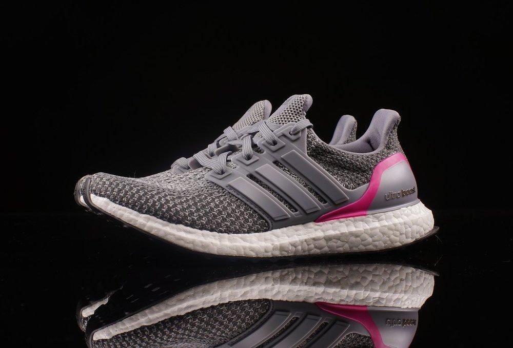 718405b4c ... closeout womens adidas ultra boost grey pink under retail ef518 f359e