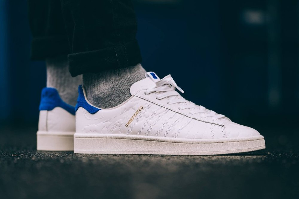 wholesale dealer 5475b f299c Now Available Undefeated x Colette x adidas Campus