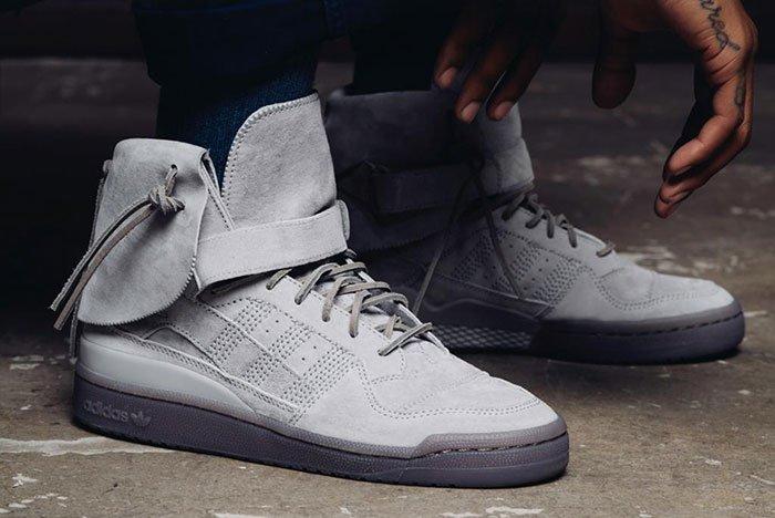 Adidas Forum High Moc Stone / Stone-Clay