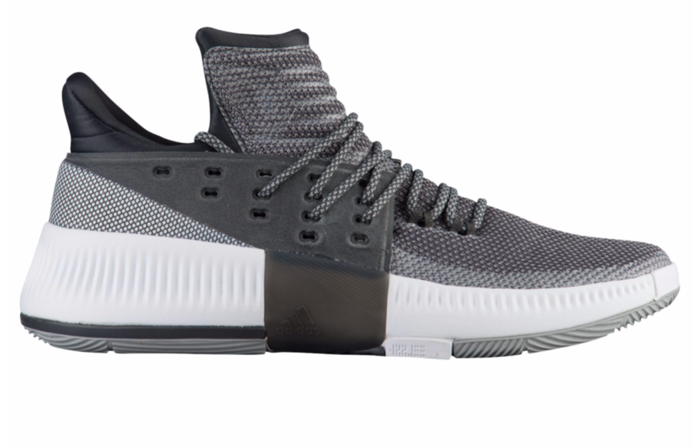 best website 40202 1404a ... for sale now available adidas dame 3 grey white