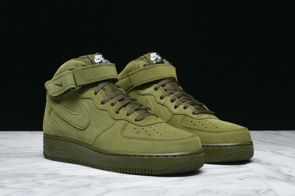 pretty nice cd978 5667f ... reduced nike air force 1 mid legion green under retail u2014 sneaker  shouts 08517 07c51