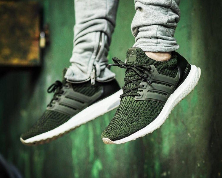 2017 Adidas Ultra Boost 3.0 Trace Cargo Olive LTD Size 7.5. BA7748