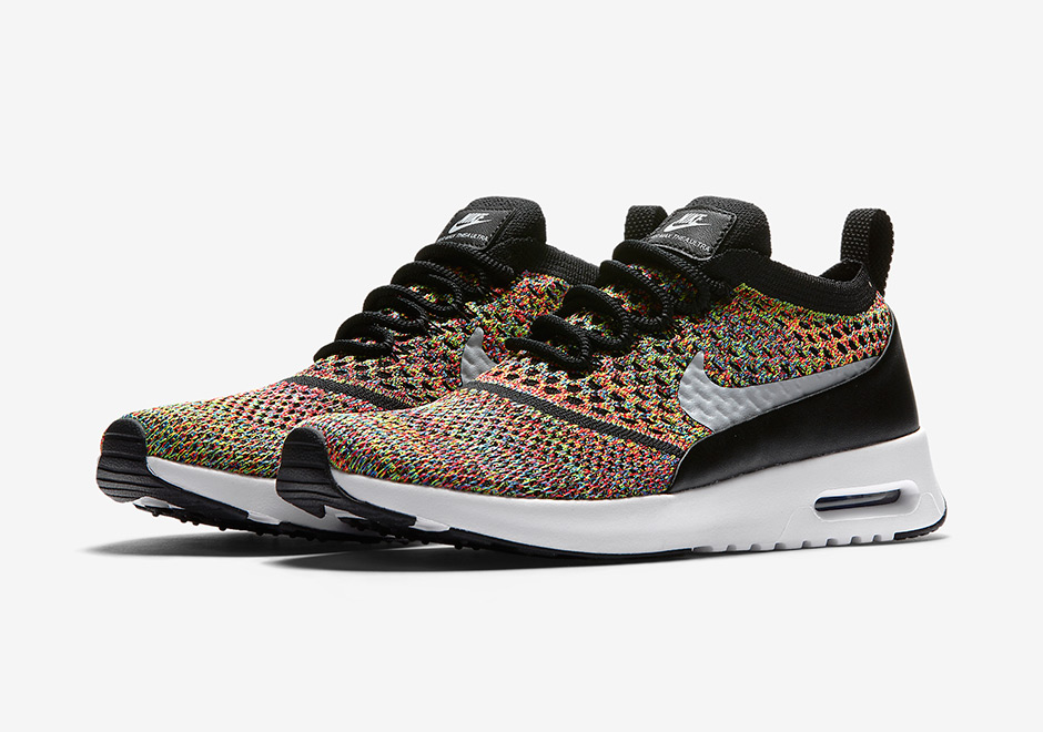 on sale bebe5 4b12d Now Available  Women s Nike Air Max Thea Flyknit