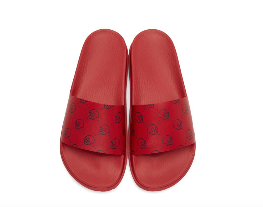 de1c61afb0c Now Available  Gucci Trek Pursuit Slide