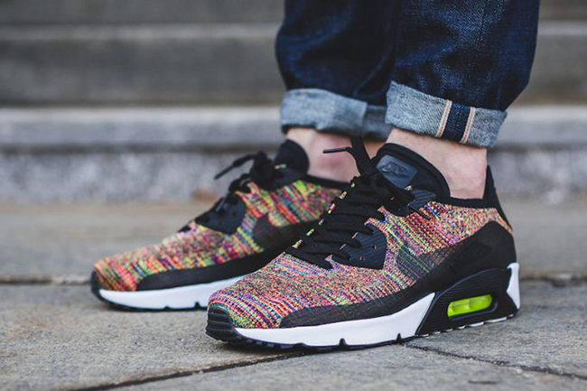 4340431e4d90f Now Available  Nike Air Max 90 Flyknit