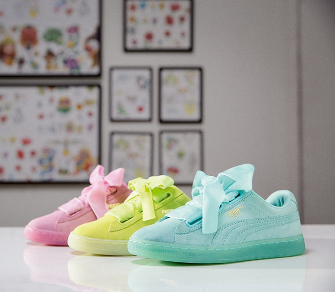 56206737ec6c Now Available  Women s Puma Suede Heart