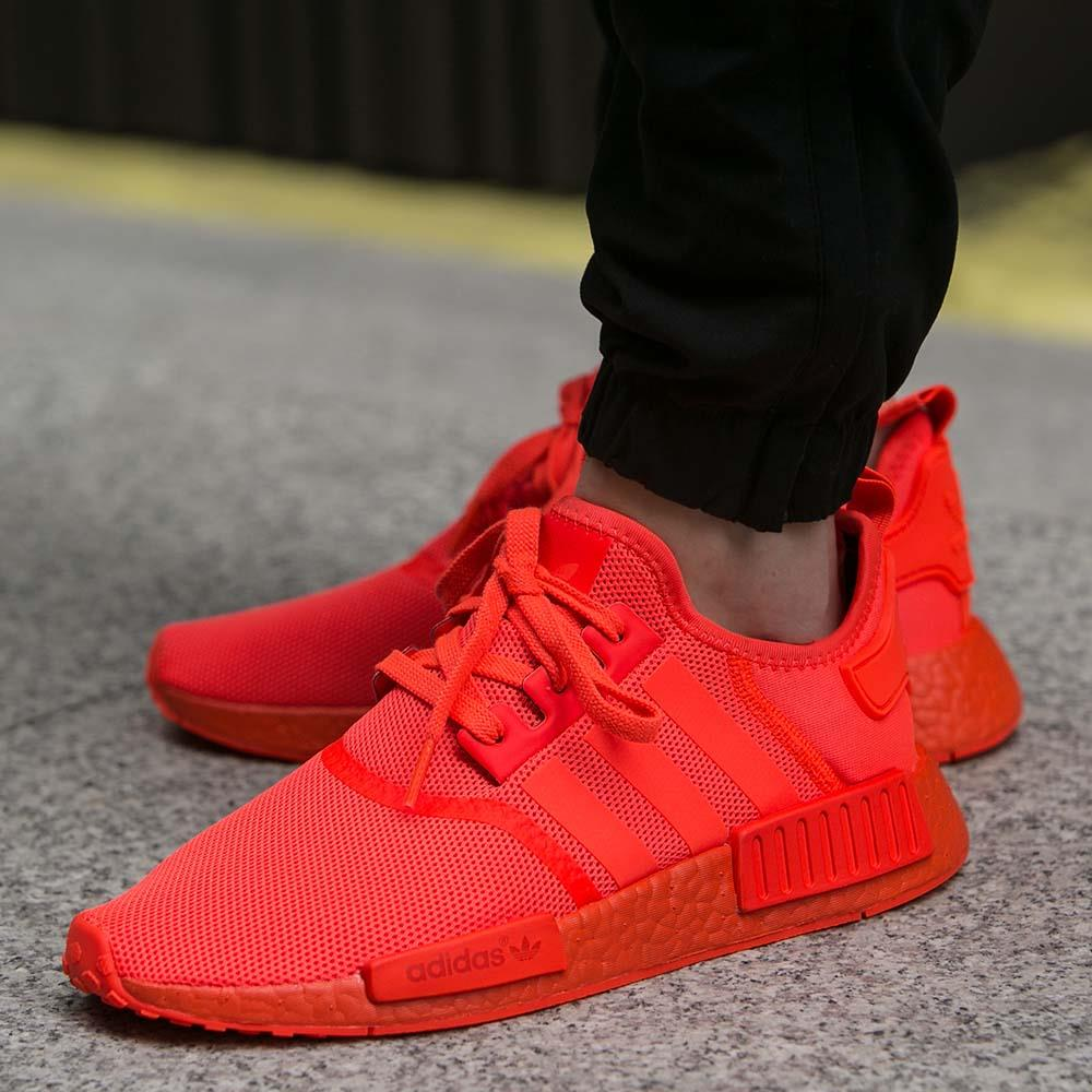 adidas nmd all red