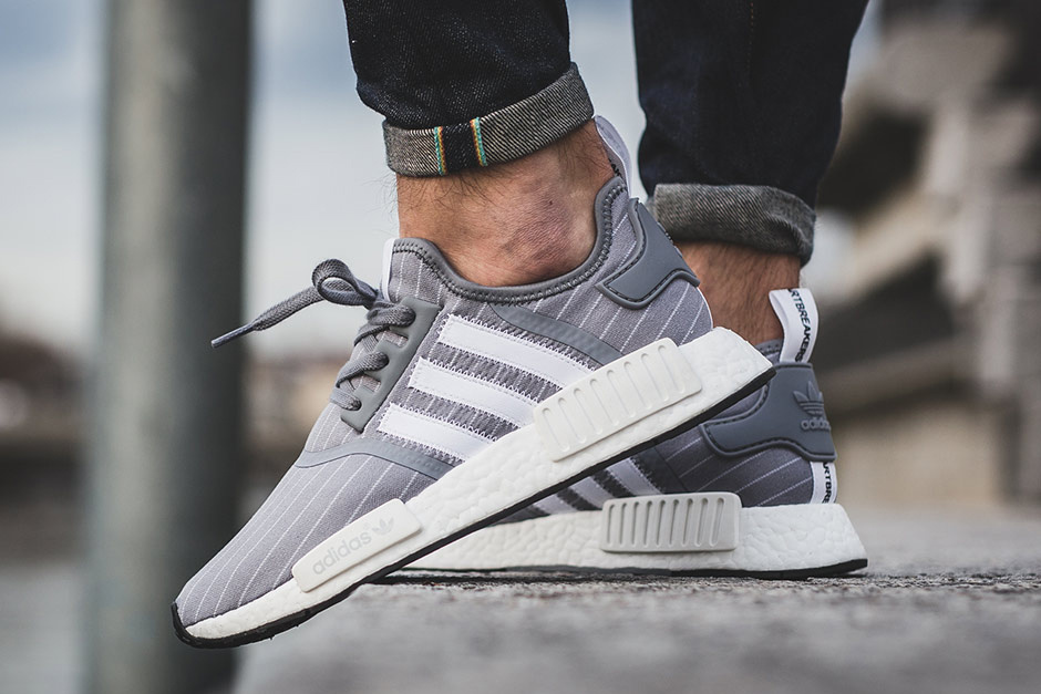 Cheap Adidas NMD PK TRI COLOR ON FEET