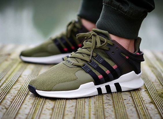 ADIDAS EQT SUPPORT ADV CORE BLACK PACKER SHOES