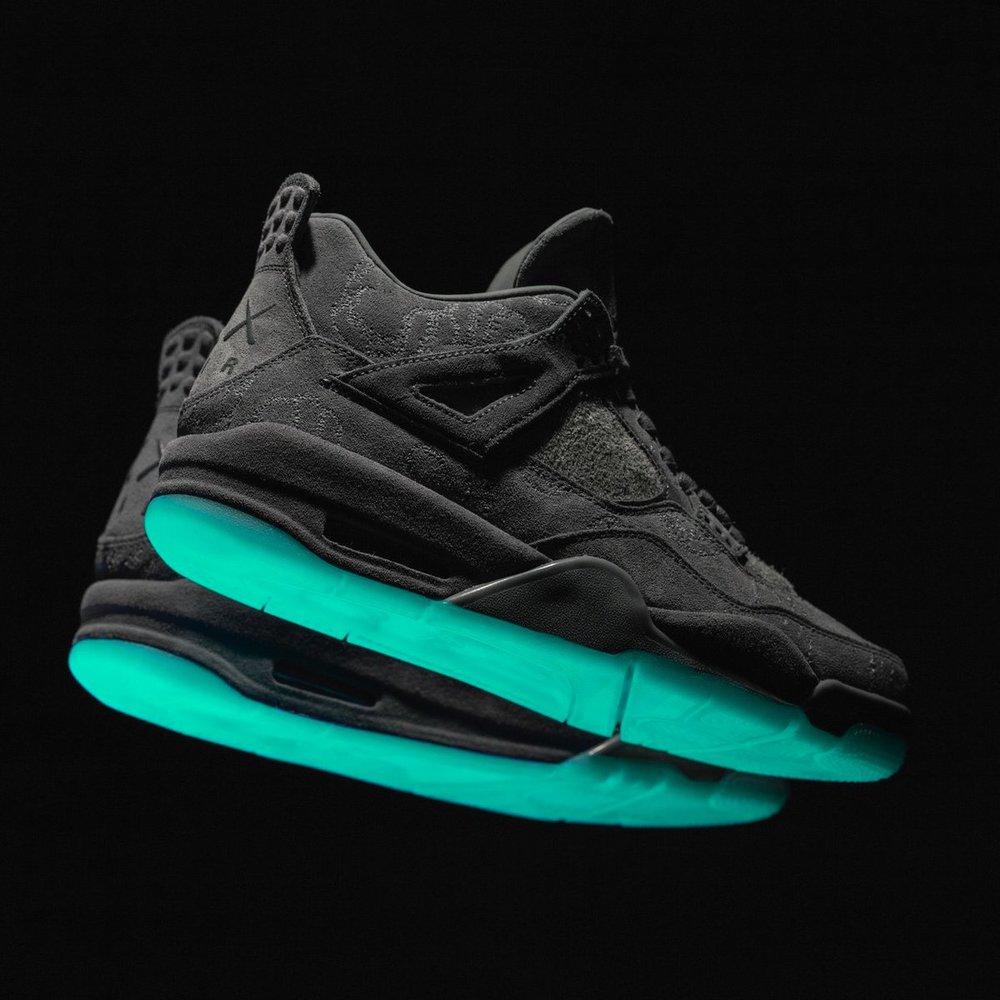 91f2cbc79c5c50 KAWS x Air Jordan 4 Retro Release Info — Sneaker Shouts