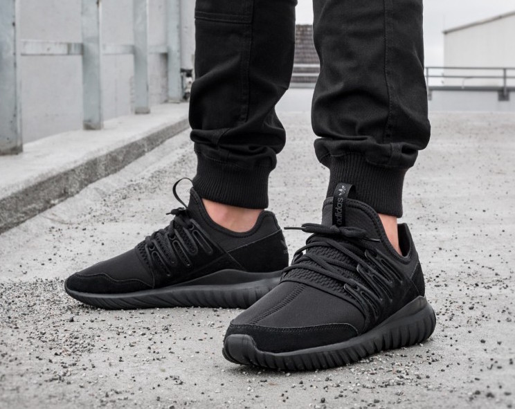 Adidas Tubular Instinct Shoes Black adidas MLT