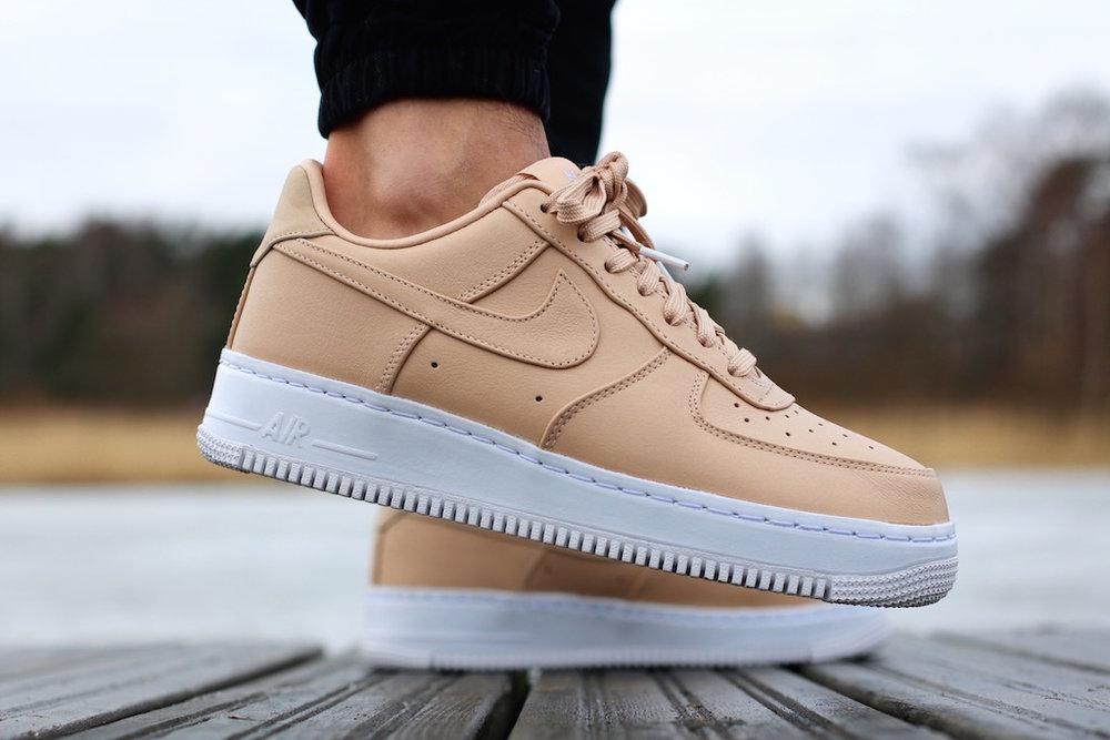 nikelab air force 1 low beige