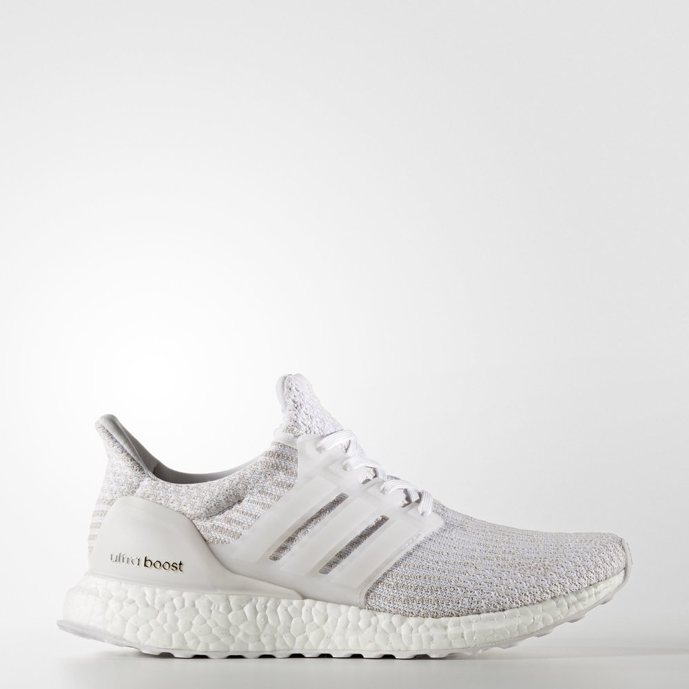 590aed485e4 ... wholesale now available womens adidas ultra boost 3.0 white pearl grey  9fbcd 34d89