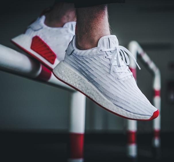 White NMD R2 Shoes adidas US