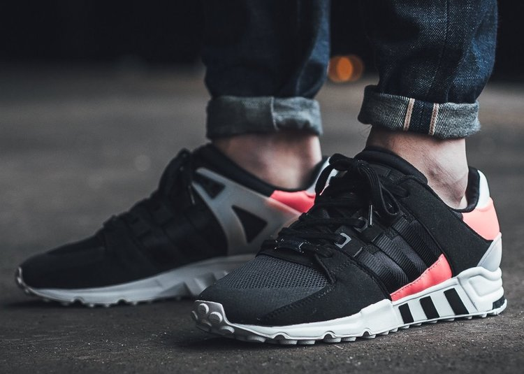 Adidas EQT Support Boost 93/17 White Turbo Red Black BA7473