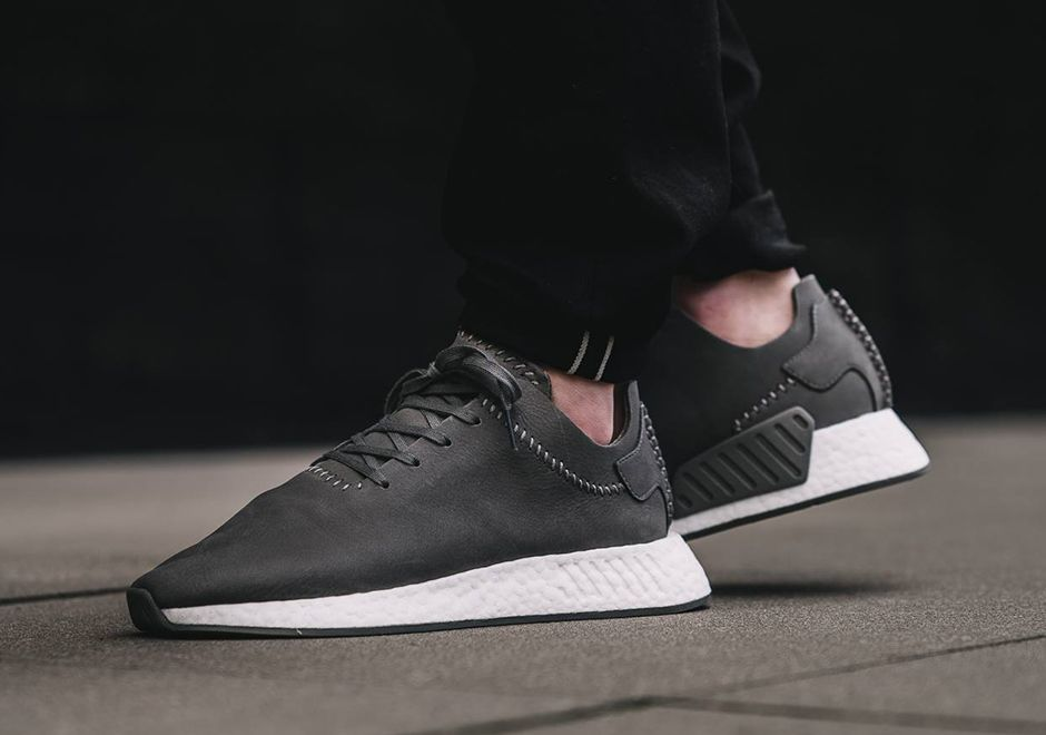 e8edf3f2cdb4 Now Available  Wings + Horns x adidas NMD R2 Leather