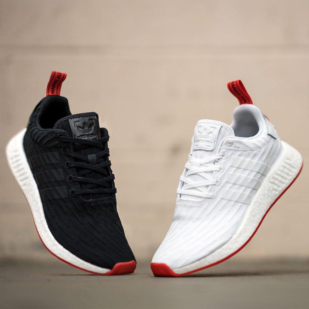 adidas nmd r2 pk red adidas gazelle og white black leather