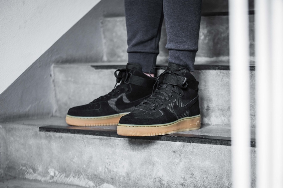43 Off The Nike Air Force 1 High Black Gum Sneaker Shouts