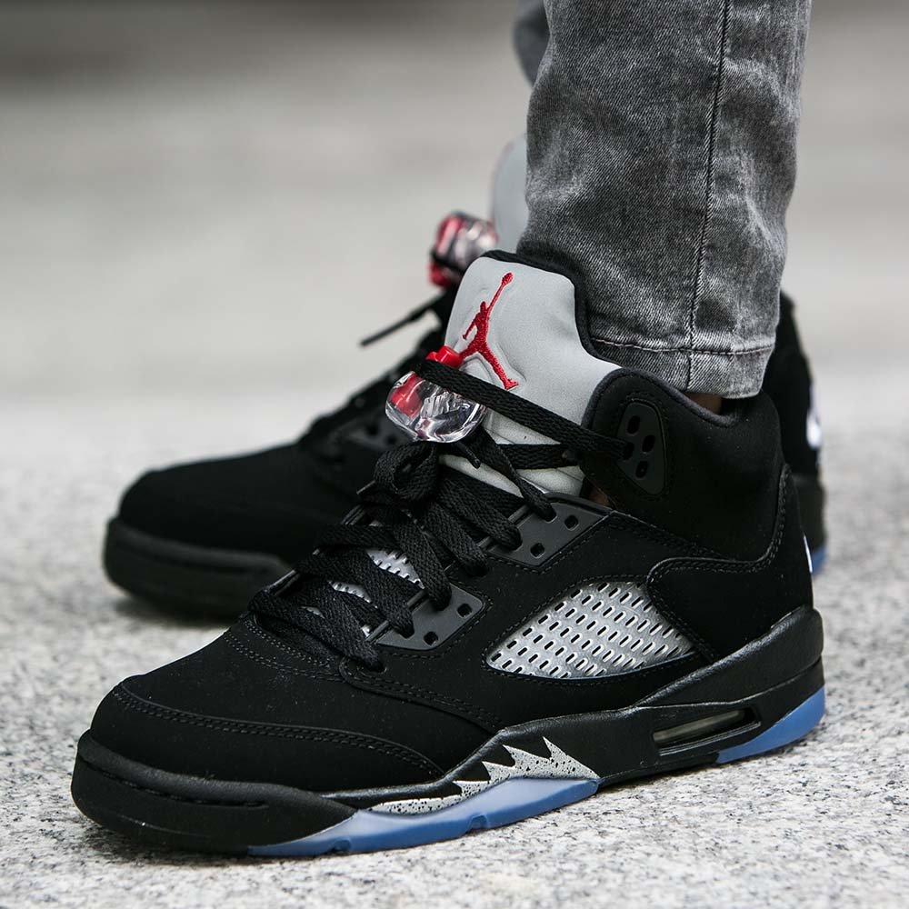 5cddabb9aef ... shopping gs air jordan 5 retro black metallic og under retail u2014 sneaker  shouts 2bcaf fb10a