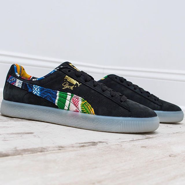 6075dc7888298a Now Available  Coogi x Puma Clyde