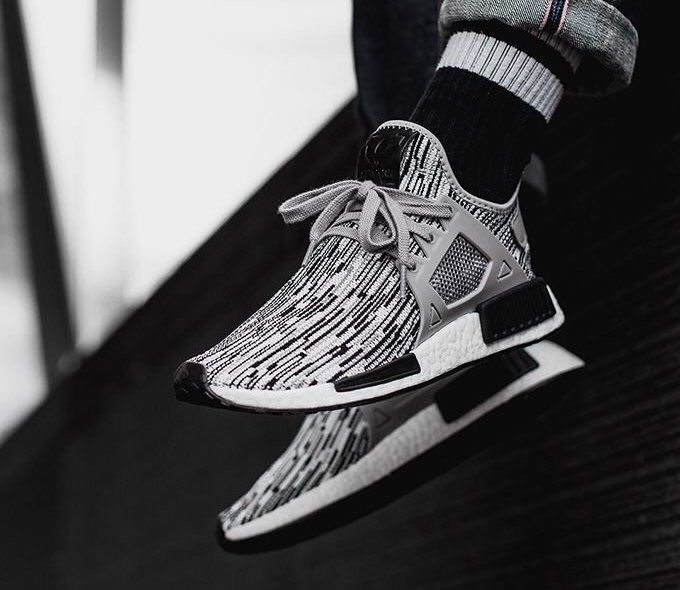 Adidas NMD XR1 PK Utility Black / Core Black / Bright Blue S32215