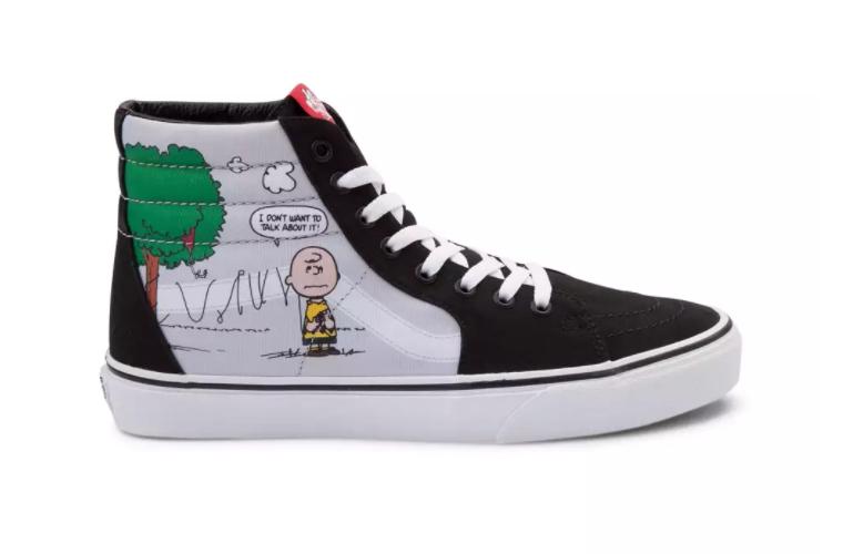 Now Available  Peanuts x Vans Sk8-Hi