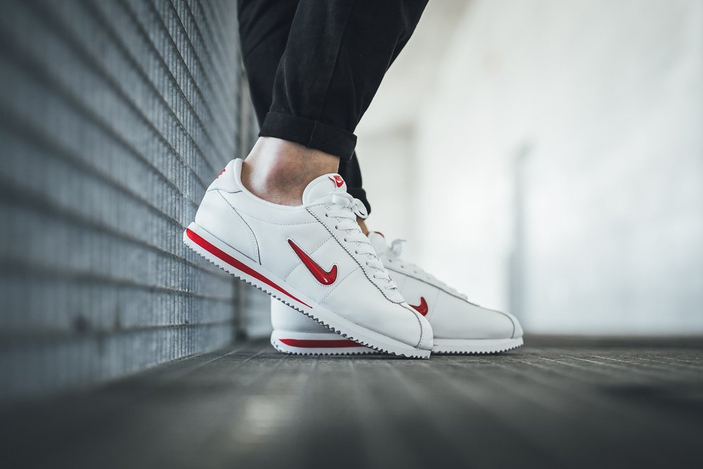 wholesale dealer 60b0b 1e5c0 ... purchase now available nike cortez basic jewel qs ruby red 4f585 0c142