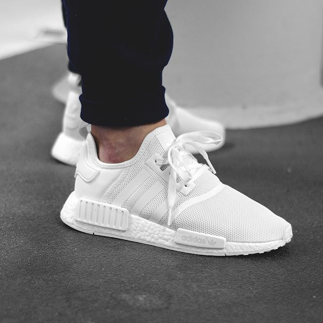 restock adidas nmd r1 triple white sneaker shouts. Black Bedroom Furniture Sets. Home Design Ideas