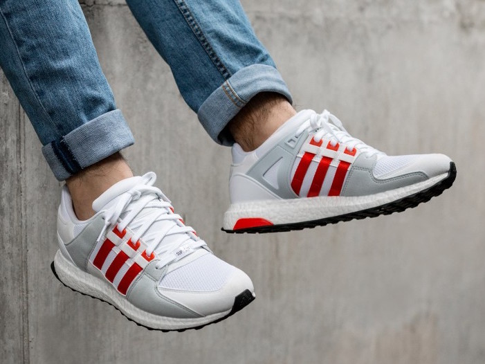 adidas eqt white and orange